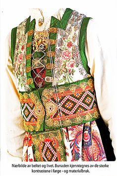 Norway, Scandinavian, All Things, Apron, Costumes, Folklore, Blouse, Tops, Fashion