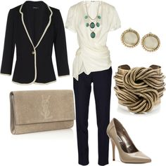 """work wear"" by lulums on Polyvore"