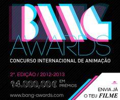 Desafio Criativo - Sua dose diária de inspiração e criatividade!: Participe do BANG Awards: Concurso Internacional de Cinema de Animação John Malkovich, Cinema, Character Inspiration, Awards, Neon Signs, Animation, Learning, Logos, Life