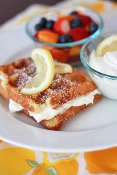 Waffle Toppings on Pinterest   Blueberry Waffle Recipes, Waffle Bar ...