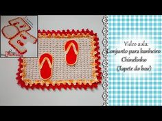 Croche- Tapete Chinelo-Base- Passo A Passo- Parte 1 - YouTube