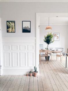 Apartment in Nørrebro, Copenhagen, via My Unfinished Home
