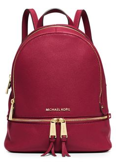 Michael Kors Women s Rhea Backpack Bolsos Cartera b10ddf9a56c3f