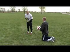 Soccer Goalkeeper Dive Training Part 3