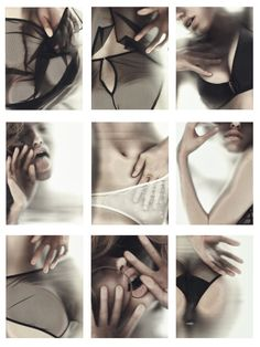 Campaign for Corporelle lingerie