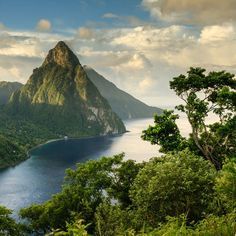 November – Saint Lucia - A Month-By-Month Guide to the Best Island Vacations - Coastal Living