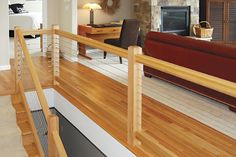modern cable stair railing - Google Search