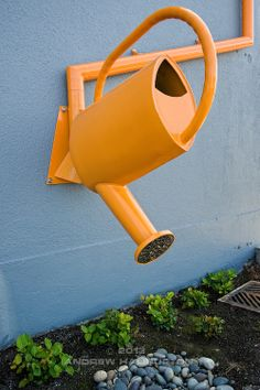 A Buried Gutter Drain Downspout Extension Home Ideas In