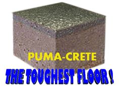 EP Floors Corp. does not install #Tufco #flooring brand, but provides an odor free, non toxic floor alternative, called Puma-Crete.