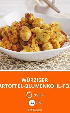 Würziger Kartoffel-Blumenkohl-Topf - smarter - Kalorien: 130 kcal - Zeit: 30 Min. | eatsmarter.de
