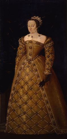 Catherine de Medici by the Donna Al Potere' exhibition in Florence.