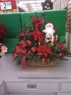 My first Santa basket for 2013 @8811 Annapolis Md.