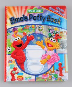 Take a look at this Sesame Street Elmo Potty Time Padded Hardcover by Parade of Toys Collection on #zulily today!