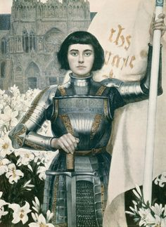 Joan of Arc #FrenchGirl  #Hair  #Girl