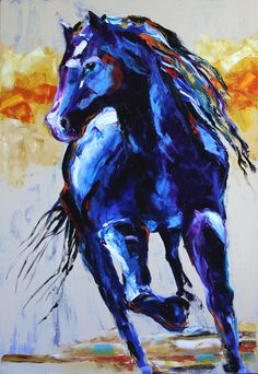 My favorite artist!!!!  Texas Contemporary Fine Artist Laurie Pace: Contemporary Horse Paintings Journey by Texas Artist Laurie Pace