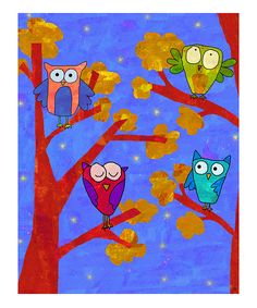 could be cute when we do value scales. Each owl has to have 3 different values???