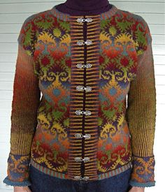 Knit Kauni-4 by semi tropical I would love to make this one day - beautiful <3