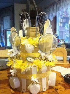 Wedding Shower Hand Towel Cake by me!