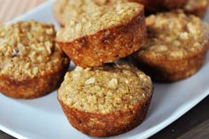 Healthy Applesauce Oat Muffins Not only are these applesauce muffins healthy bu. Healthy Applesauce Oat Muffins Not only are these applesauce muffins healthy but they are also moi Muffins Blueberry, Oat Muffins, Healthy Oatmeal Muffins, Healthy Muffins For Kids, Oatmeal Cups, Sugar Free Muffins, Healthy Breakfast Muffins, Peach Oatmeal, Cornbread Muffins