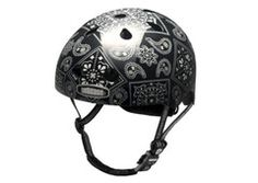 Nutcase Black Bandana Bicycle Helmet