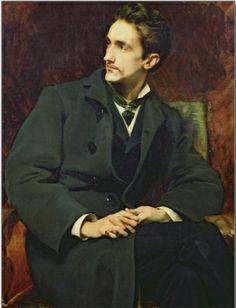 Henri Lucien Doucet (French 1856–1895) Portrait of Robert.