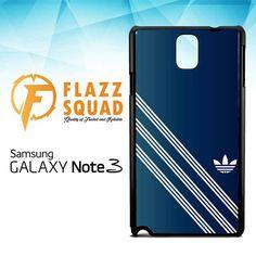adidas blue logo Z4337 Samsung Galaxy Note 3 Case