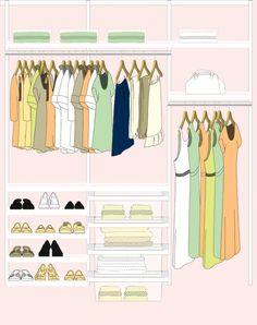 The Container Store: Elfa Closet System: Design Your Own Closet