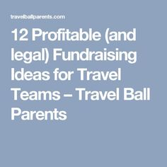 12 Profitable (and legal) Fundraising Ideas for Travel Teams – Travel Ball Parents Fundraising Letter, Fundraising Activities, Fundraising Events, Team Fundraising Ideas, Fundraisers, Travel Baseball, Baseball Mom, Baseball Tips, Baseball Stuff