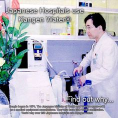 Kangen Water in Hospital