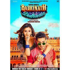 Varun Dhawan & Alia Bhatt show off their swag in this latest poster of 'Badrinath Ki Dulhania'. Trailer out tomorrow. @filmywave  #VarunDhawan #AliaBhatt #BadrinathKiDulhania #ShashankKhaitan #KaranJohar #firstlook #poster #movieposter #firstlook #movie #film #celebrity #bollywood #bollywoodactress #bollywoodactor #bollywoodmovie #actor #actress #filmywave