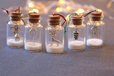 Christmas tree decorations, Christmas tree ornaments, glitter bottles, Christmas gift, Christmas decoration, DIY kit, xmas decorations by GallaghersBoutique on Etsy https://www.etsy.com/nz/listing/209334355/christmas-tree-decorations-christmas