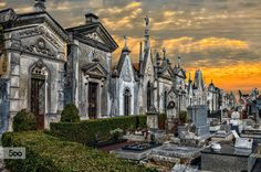 Beautiful cemetery Portugal. Photography by  Uxio.
