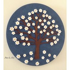 Artes da Auxi Mandala flores.