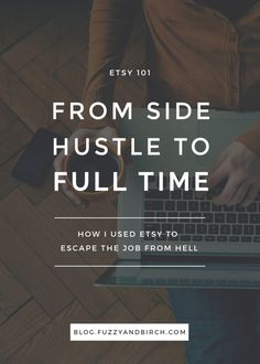About a year ago I was firmly planted in a horrible job. I mean really awful. The kind of job where your boss yells at you for taking a day off to attend a funeral. Learn how I took an Etsy shop and turned it into a 6-figure biz that made that corporate job look like a joke.