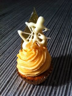 Spiced Ginger Cupcake with Earl Grey Buttercream Frosting
