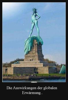 Die Auswirkungen der globalen Erwärmung.. | Lustige Bilder, Sprüche, Witze, echt lustig
