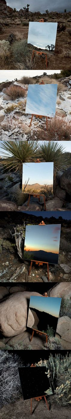 not sure of the photographer - Photos Of Mirrors In The Desert