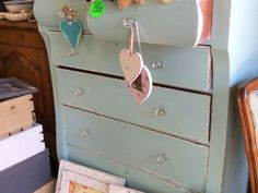 Painted by Hey JUDES in French blue with bling knobs, really pretty and big! Hey JUDES has other chests of drawers so make it a day to browse in our ten hour browse! Directions to the farm Barn original Hey JUDES where all the revamps start and furniture piled high! Anything u want, we will have it! From Durban side take Camperdown off ramp, left at top, 3km to Tjunction and left on the R603 towards Umbumbulu/Eston, 4km and see Hey JUDES sign and go right 4km to Hey JUDES farm, many signs x…