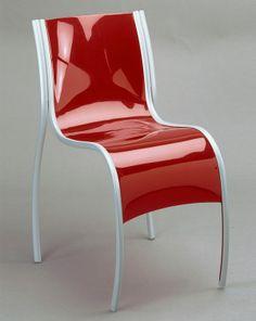 "Ron Arad , ""Fantastic Plastic Elastic"" chair , 1997"