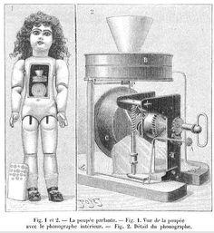 Edison's Phonograph Doll. T2: Definitely an Infernal Device.