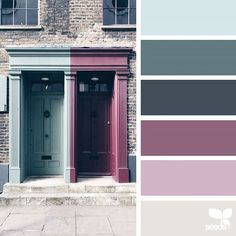 today's inspiration image for { a door hues } is by @closetteblog ... thank you, Federica, for another wonderful #SeedsColor image share!