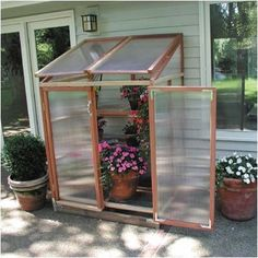 lean to cold frame | ... Gardenhouse Patio Gardenhouse Polycarbonate Lean-To Greenhouse