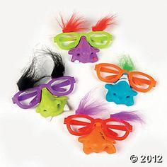 Monster Eyeglasses - Oriental Trading Co.