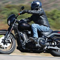 The 2020 model has more power and better handling over the previous model, the 2017 Low Rider S, which was a Dyna. Motorcycle Images, Motorcycle Types, Motorcycle Clubs, 2014 Harley Davidson, Harley Davidson Sportster, Harley Davison, American Motorcycles, Street Bob, Low Rider