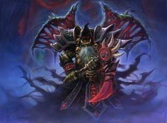 Bloodreaver Gul'dan art