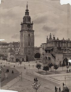 Poland History, Germany And Prussia, Krakow Poland, Bucharest, Beautiful Buildings, Eastern Europe, Old Town, Old Photos, Taj Mahal