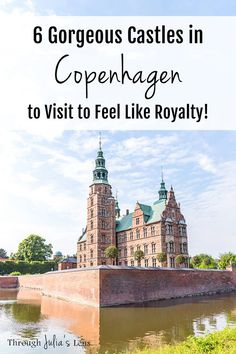 The castles in Copenhagen are some of the prettiest in Europe! From Hamlet's castle to the Versailles of Denmark, these are the must see castles when you visit Copenhagen! Versailles, Europe Travel Tips, European Travel, Travel Destinations, Travel Guide, Travel Info, Cheap Travel, Beautiful Places To Visit, Cool Places To Visit