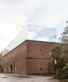(Top) building control cant tell me i cant have extra floor when they cant see them Balenmagazijn, Gent © Trans architectuur Architecture Renovation, Public Architecture, Brick Architecture, System Architecture, Russian Architecture, Industrial Architecture, Landscape Architecture, Brick Building, Old Building