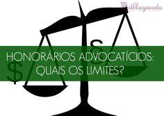 Honorários Advocatícios: quais os limites?  Advogados estão obrigados a cobrar um mínimo por seus serviços. Além disso, devem respeitar um limite máximo para cobrança de honorários advocatícios.  Leia mais:   #Advogado #Honorários #OAB