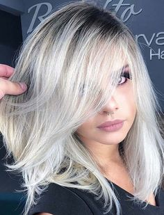 55 Stunning Platinum Blonde Hair Color Trends for 2018